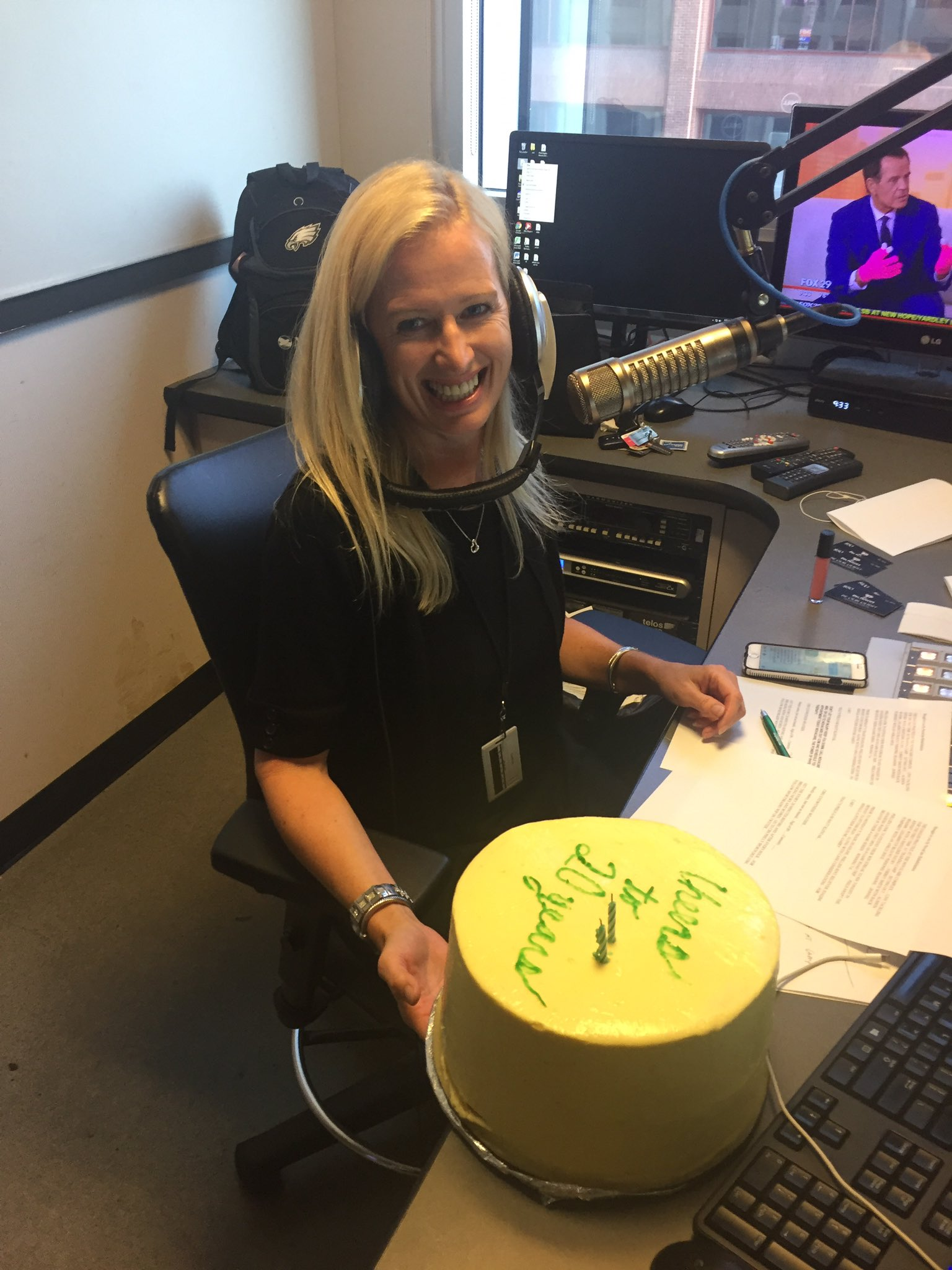 WIP Morning Show on Twitter Congrats again to Rhea Hughes for 20 years with the WIP Morning