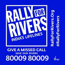 #RallyForRivers Logo