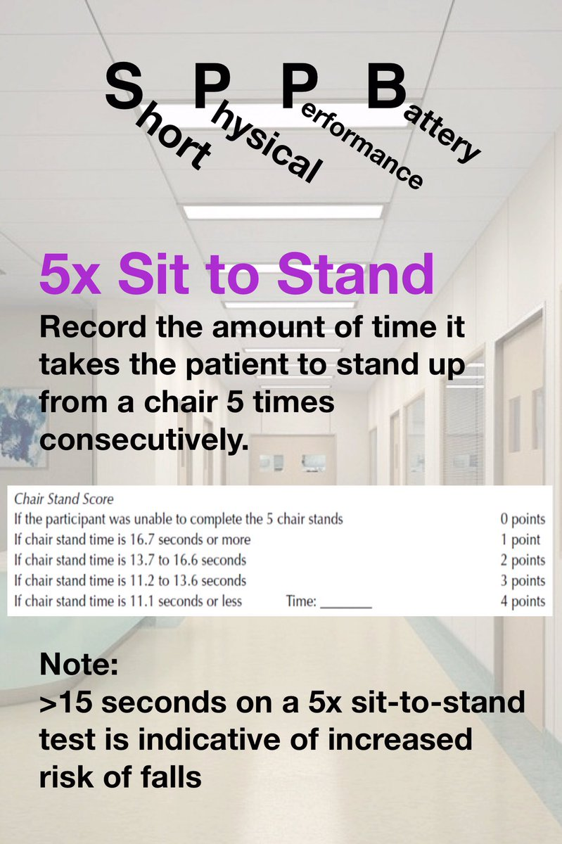 chair stand test measure revolving without arms price snapspt on twitter the short physical performance battery sppb can be a quick effective way to function in older adults