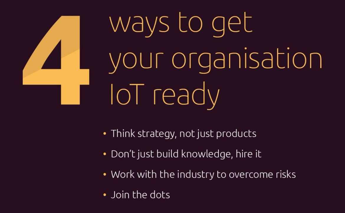 Our latest infographic is here! Find out how your organisation can get ready for #IoT!