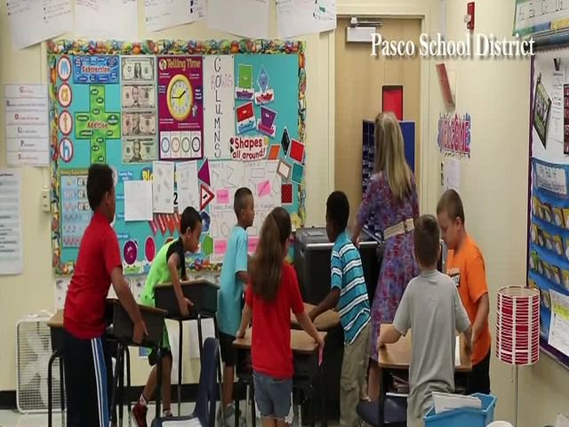 Middle schooler helps to teach Pasco students new active shooter plan