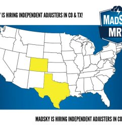 madsky mrp on twitter madsky is looking for independent adjusters in colorado and texas apply here https t co h6erxxq5ah jobopenings  [ 1200 x 927 Pixel ]