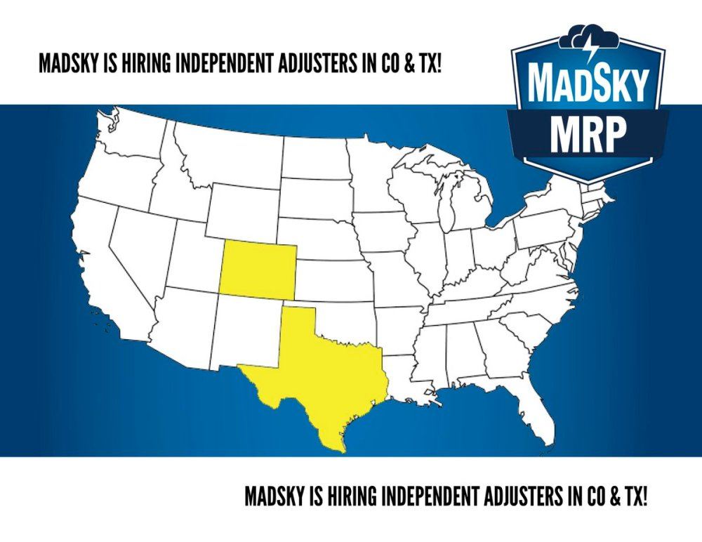 medium resolution of madsky mrp on twitter madsky is looking for independent adjusters in colorado and texas apply here https t co h6erxxq5ah jobopenings