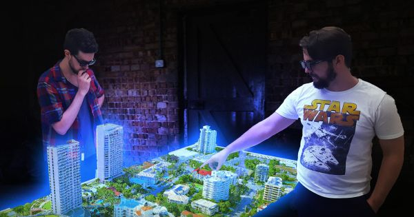 The First Truly Applicable Hologram Tech is Here - Futurism   Futurism futurist