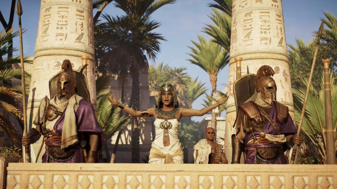Assassin's Creed Origins Game of Power Trailer & New Screenshots Revealed