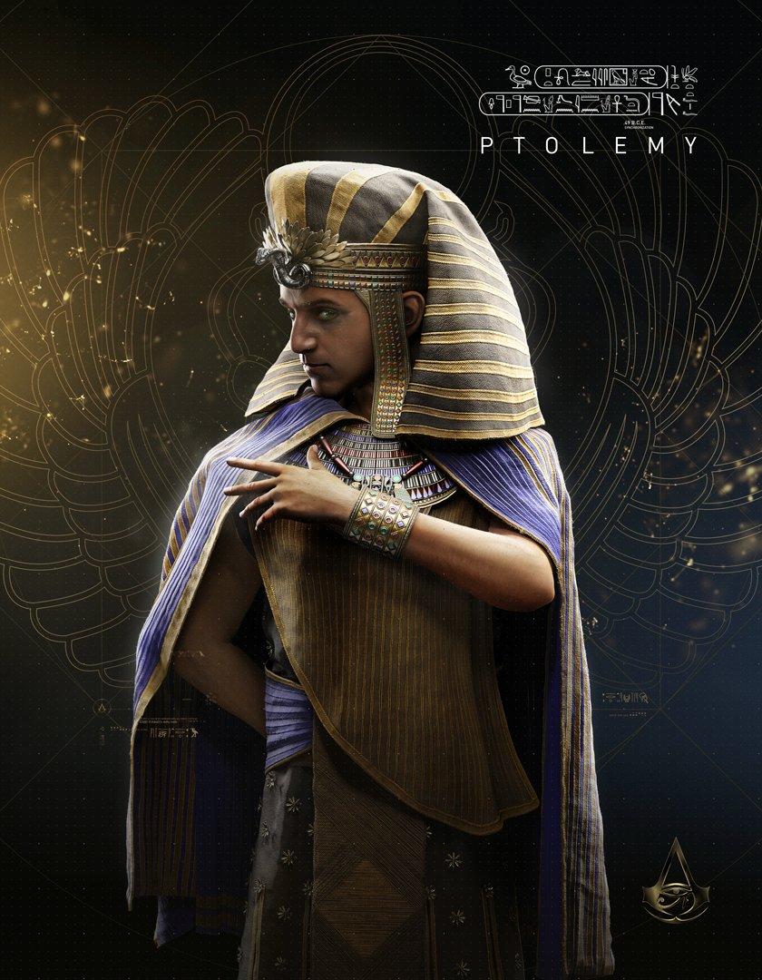 Assassin's Creed Origins Ptolemy