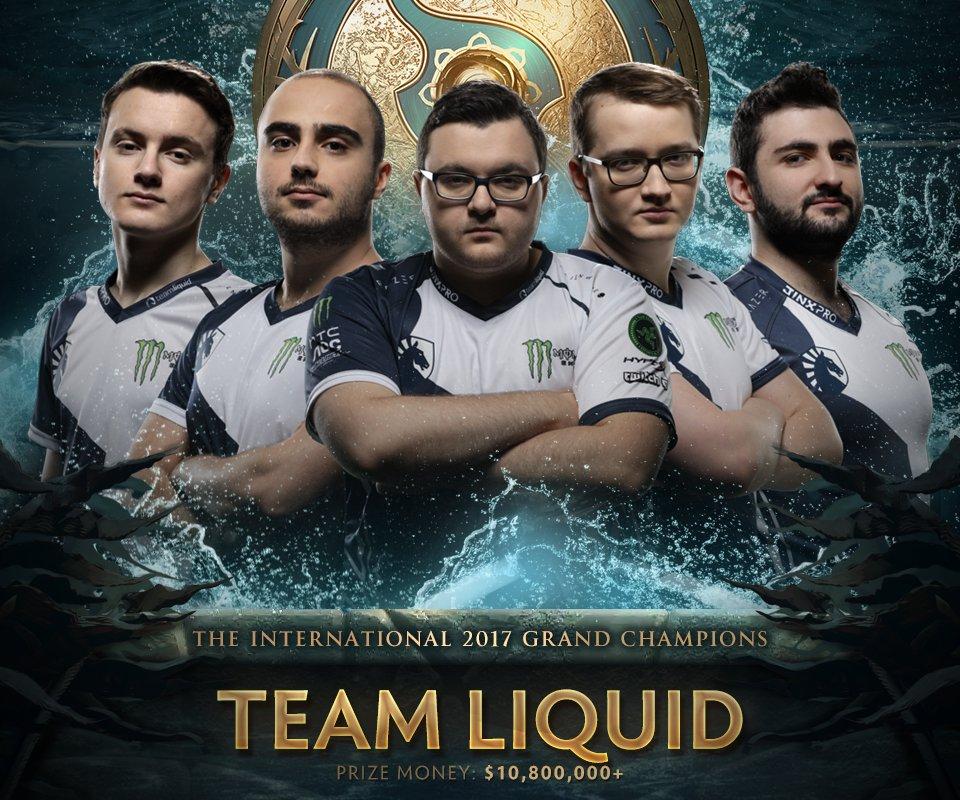 Hasil gambar untuk Team Liquid TI7