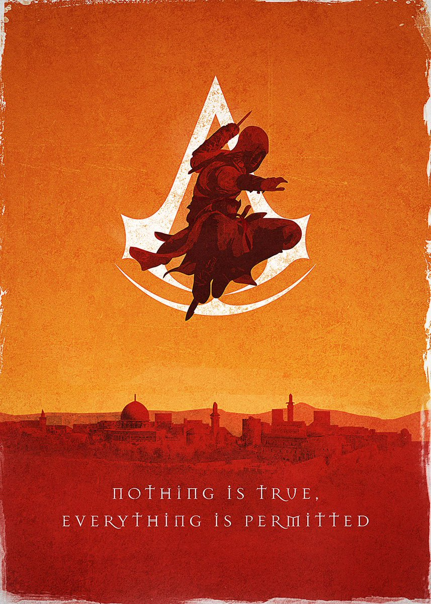 Rien N Est Vrai Tout Est Permis : permis, Assassin's, Creed, Twitter:,