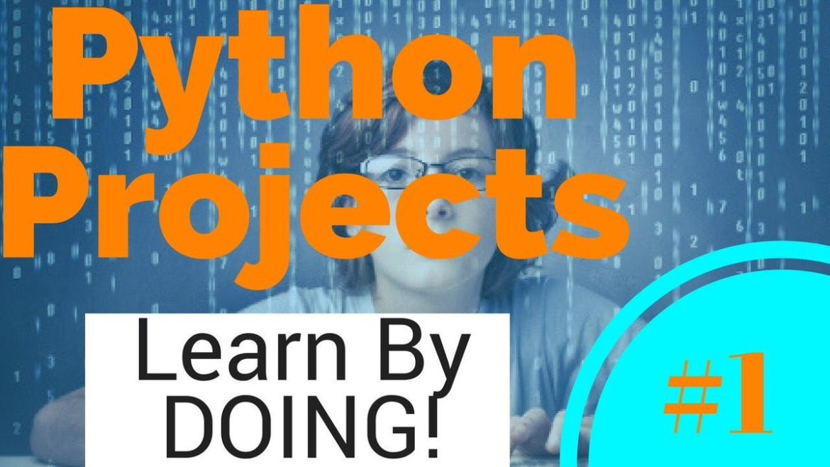 #Python Projects - Learn By Doing - #1 -  #BigData #DataScience #MachineLearning by @Codango