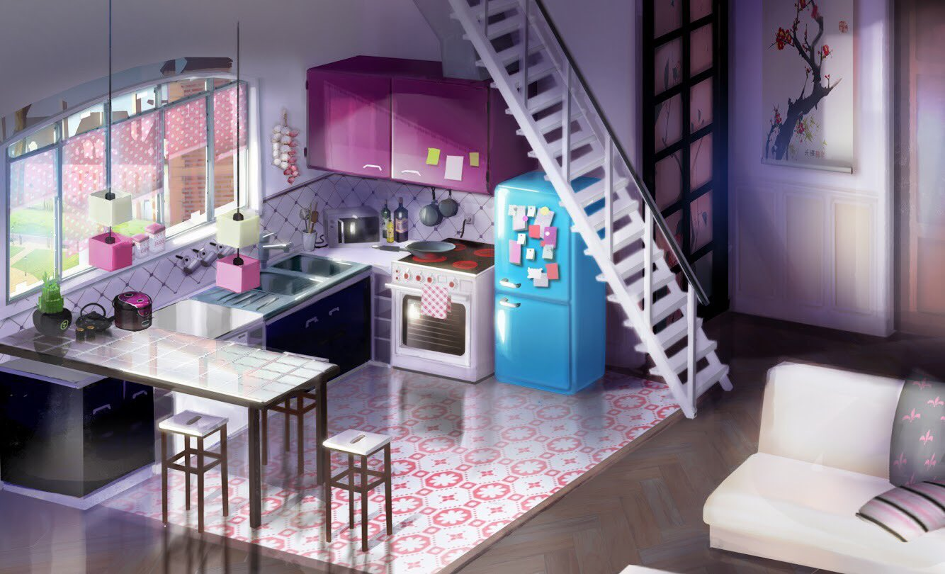 Miraculous on Twitter How cute is this concept art of Marinettes house for todays