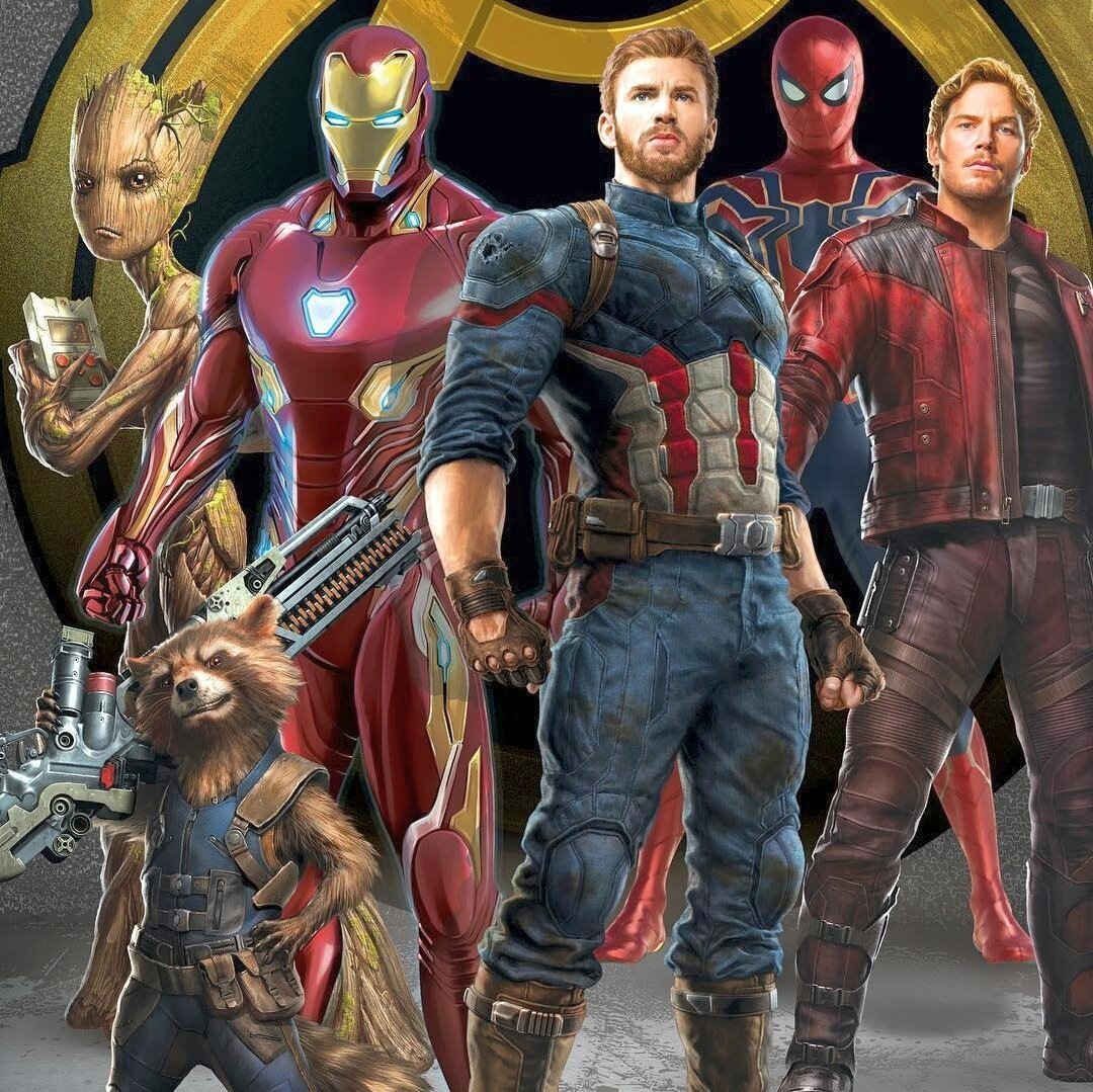 Avengers: Infinity War promotional artwork