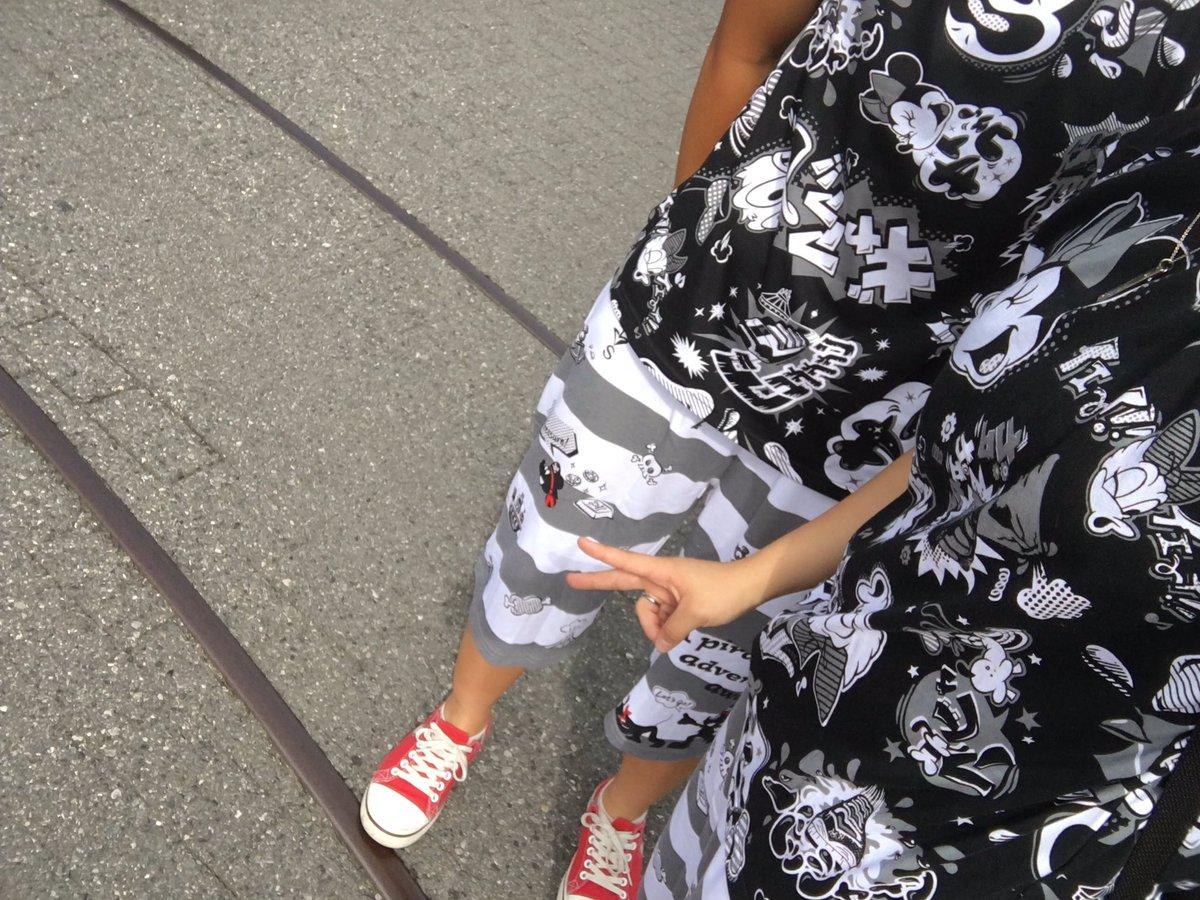 test ツイッターメディア - ディズニー😏 淳太くんの同じ感じで♡ パイレーツのTシャツはなかったけど楽しんでくるぜ!! https://t.co/5uZSeHAvwp
