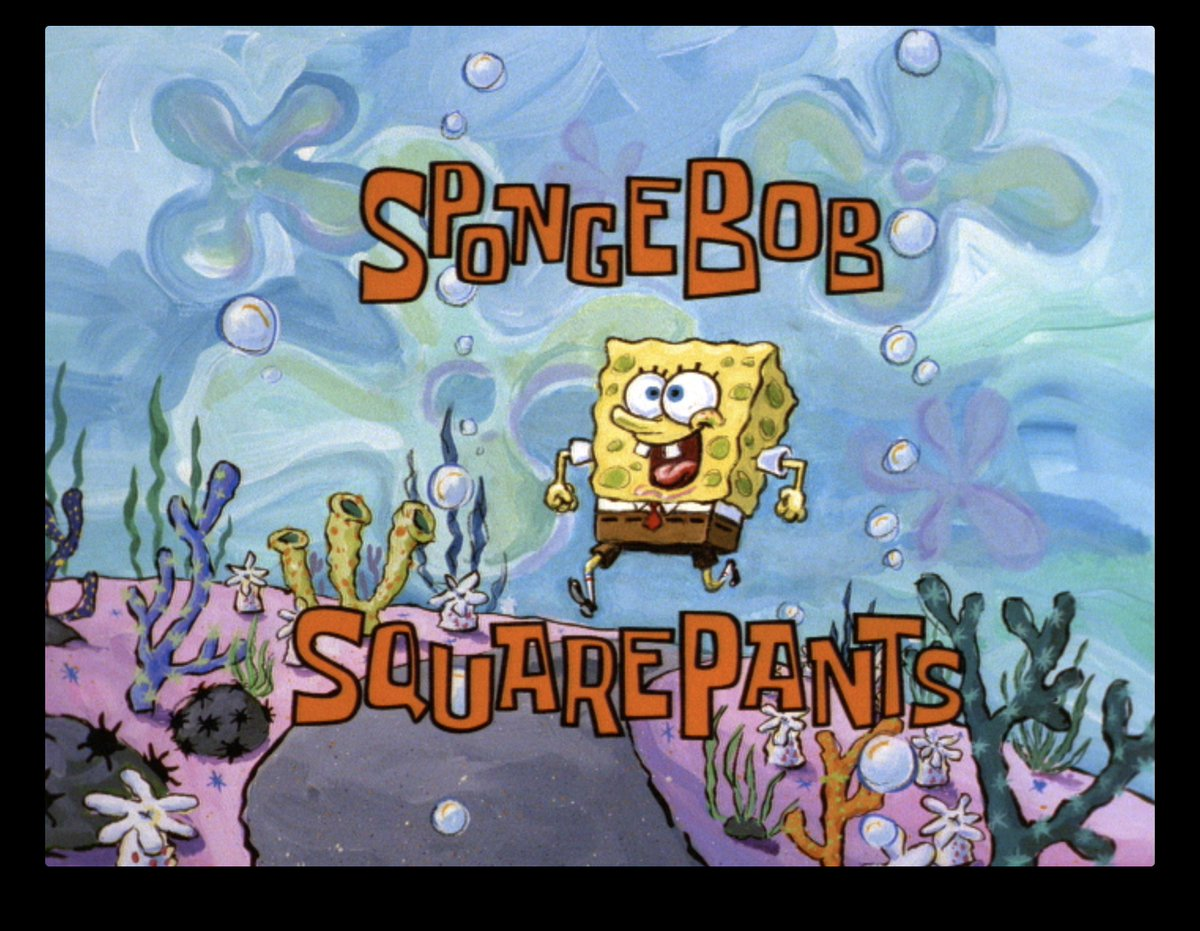 The series chronicles the exploits and adventures of the title character and his various friends in the fictional. Adam Paloian On Twitter The Original Title Cards For The Spongebob Pilot Episode Before The Opening Sequence Came To Be Spongebob