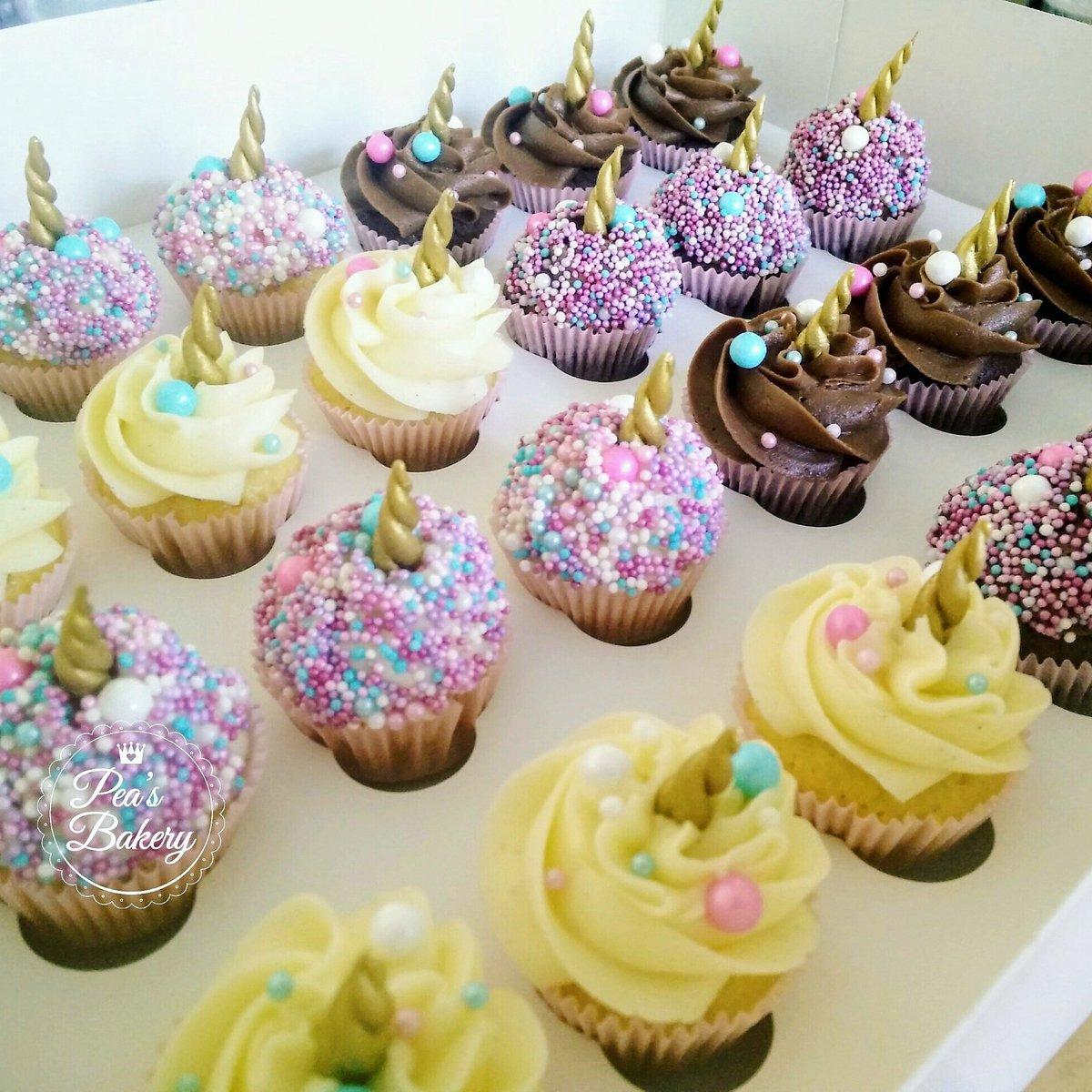 Peas Bakery On Twitter Unicorn Mini Cupcakes Nomnomnom