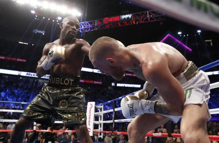 Mayweather vs McGregor repeticion de la pelea