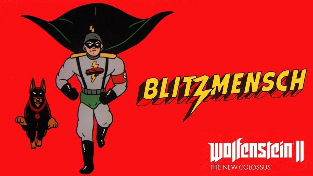 Wolfenstein II: The New Colossus Blitzmensch Trailer 4