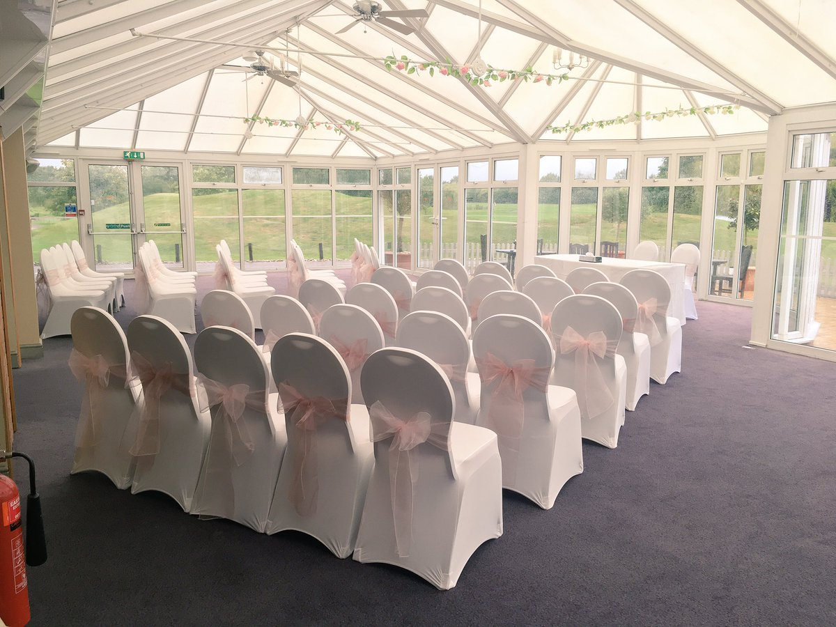 diy organza chair covers salt life beach hart on twitter white lycra with a mix of mauve light pink sashes essexgolfcc wedding decoration gettingmarried