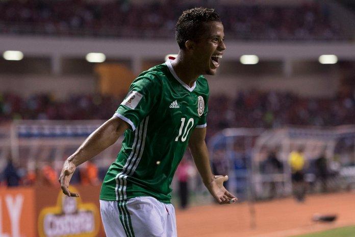 Gol de Giovani Dos Santos México 2017