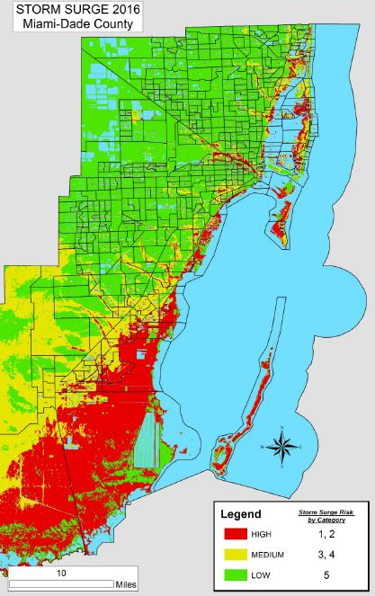 Storm Surge Map Miami : storm, surge, miami, Miami, Storm, Surge, Maping, Resources