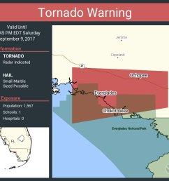 tornado warning including everglades fl chokoloskee fl ochopee fl until 12 45 pm edt [ 1020 x 860 Pixel ]