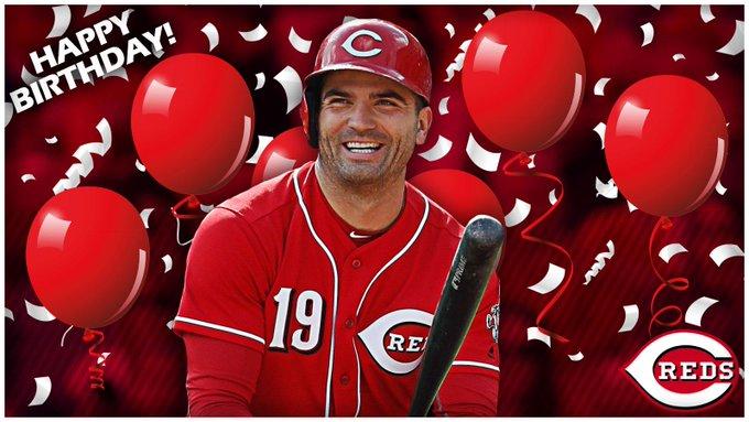 Happy Birthday Cincinnati Reds
