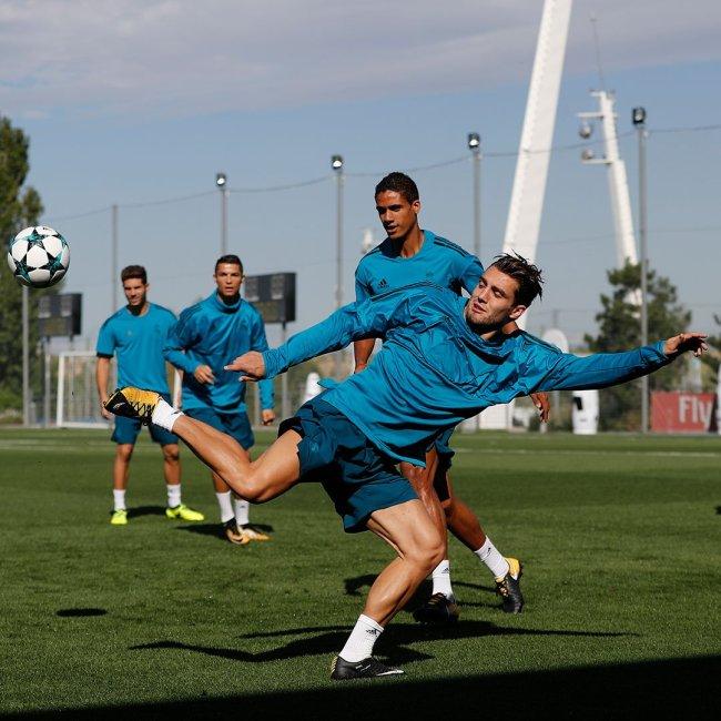 Real Madrid entrenamiento Champions
