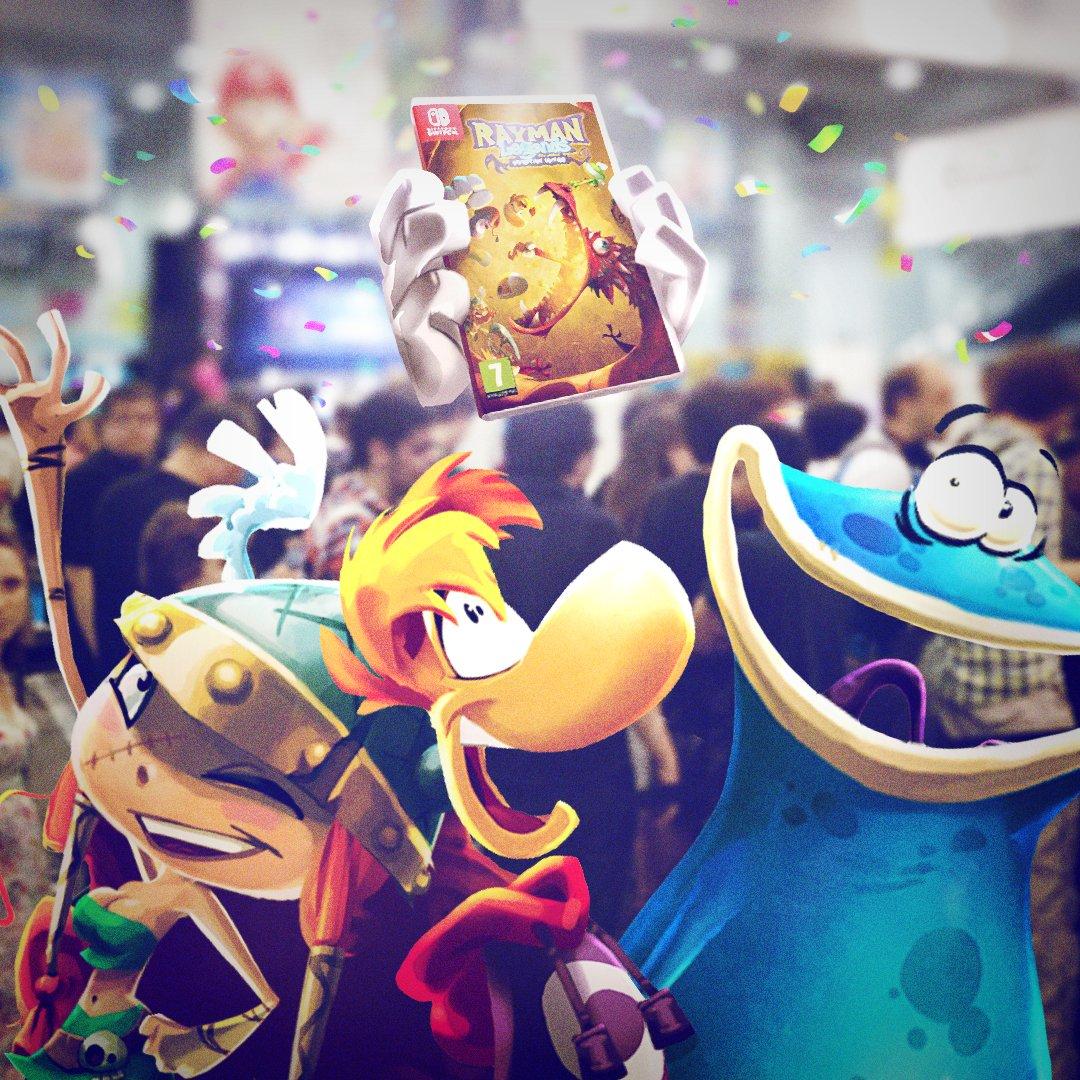 Rayman RaymanGame Twitter
