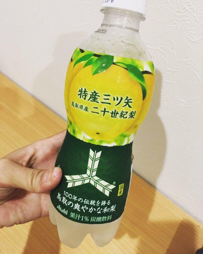 「三ツ矢サイダー 梨味」の画像検索結果