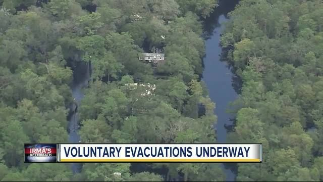 Voluntary evacuation order in effect for select Pasco County residents