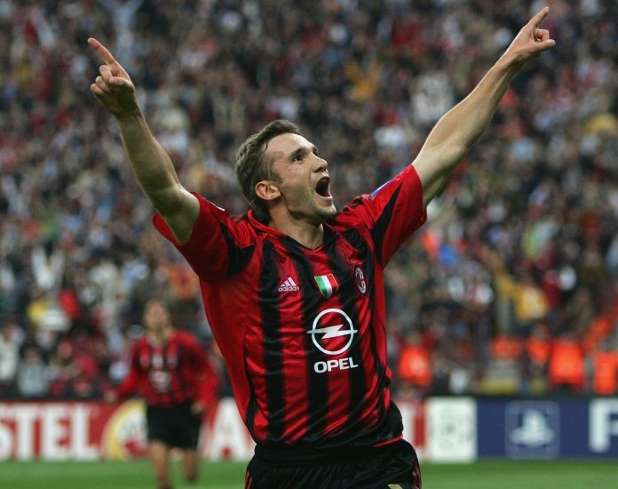 Image result for Andriy Shevchenko UCL