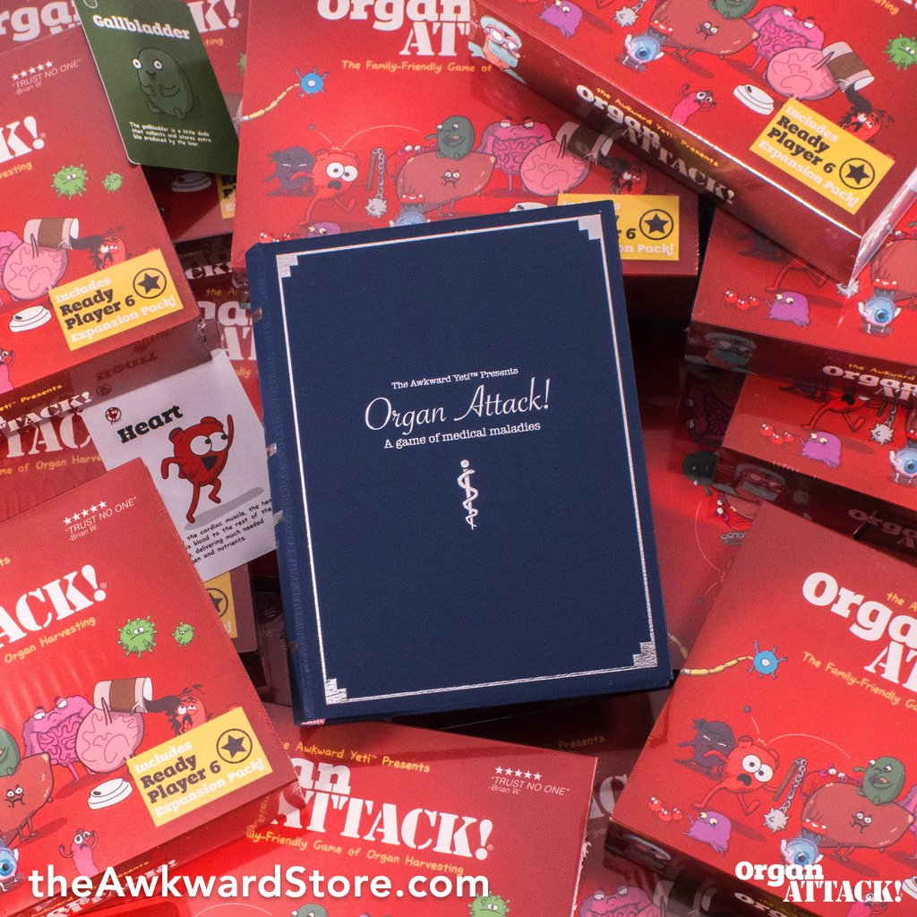 """the Awkward Yeti on Twitter: """"OrganATTACK is back in stock! You can ..."""