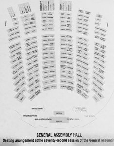 United nations dgacm on twitter did you know the seating arrangements in unga hall change every session check where your country   seat is located also rh