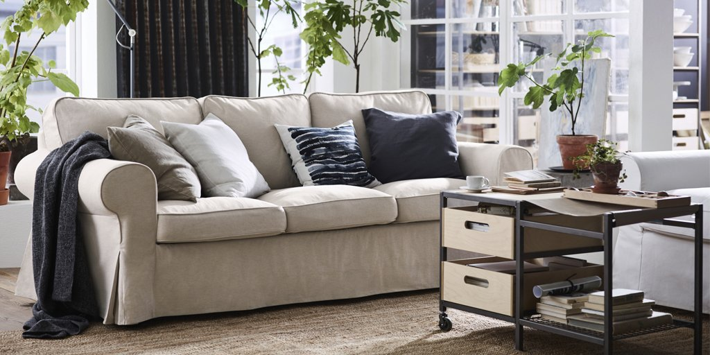 ikea usa living room red rug ideas on twitter style tip get comfortable in your with affordable pillows throws and more https t co 3clm8h1up4