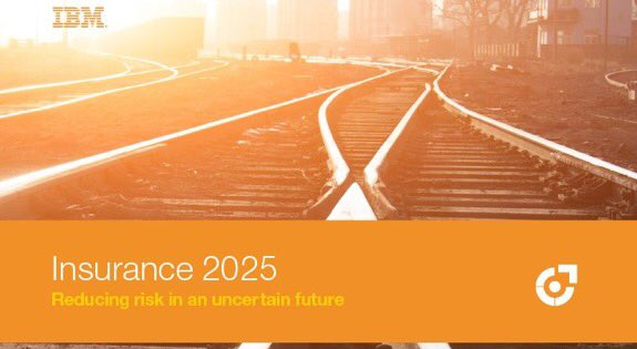 Four #insurance model scenarios for the future. @IBMFinTech #insurtech #AI #IoT #Industry40