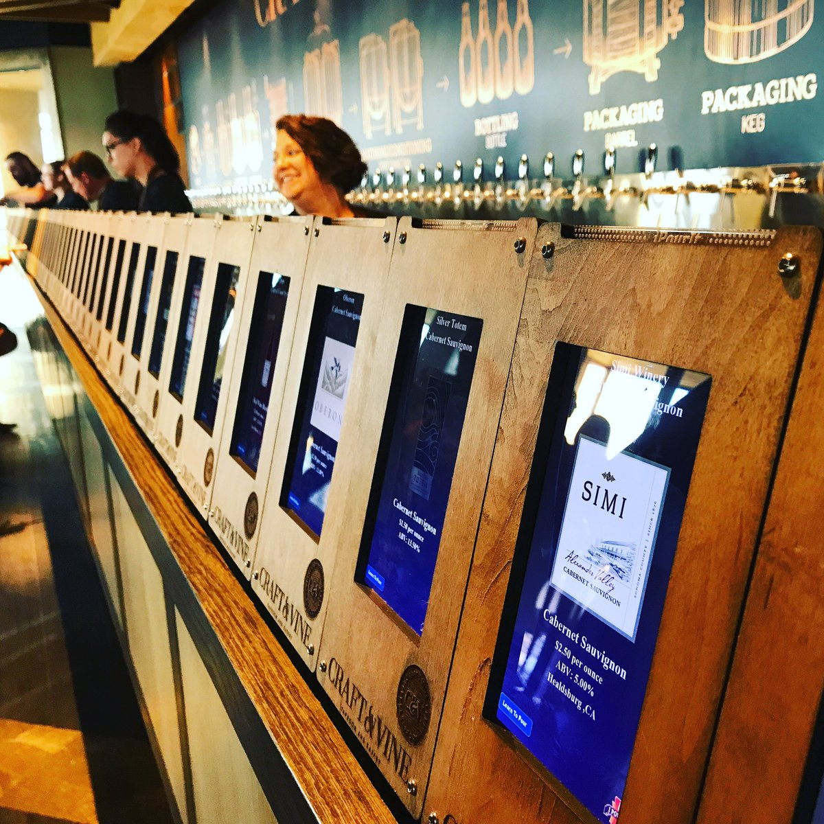 Celestina Blok On Twitter Craft Vine Opens Oct 2 In Roanoke With 16 Wines And 49 Beers On Tap Complete With Interactive Stations For Those Who Wish To Learn More Https T Co Jccmrwtihz