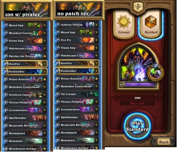 how to build a hearthstone deck 2018