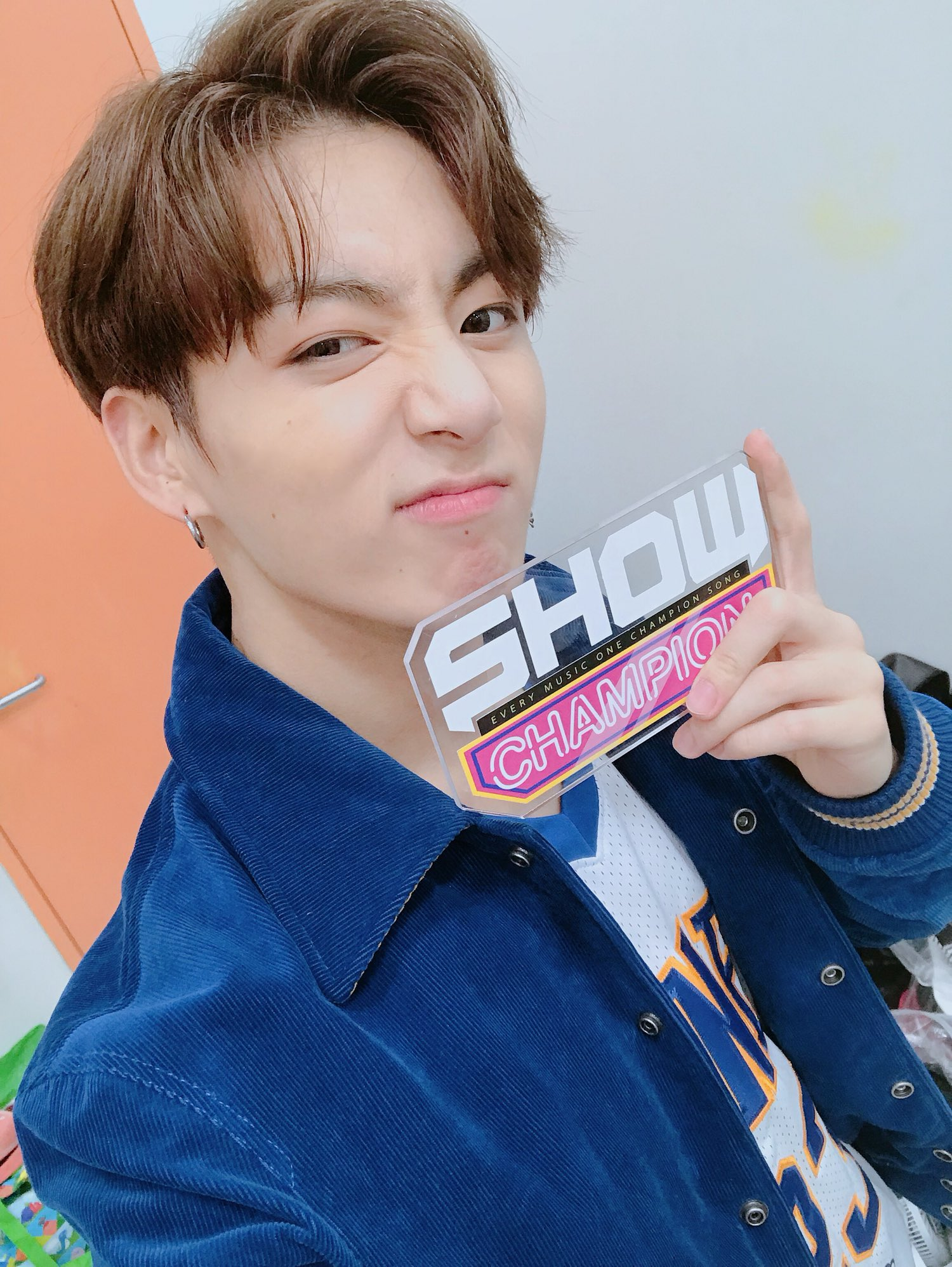 Cute Korean Style Wallpaper Picture Bts At Show Champion 170927