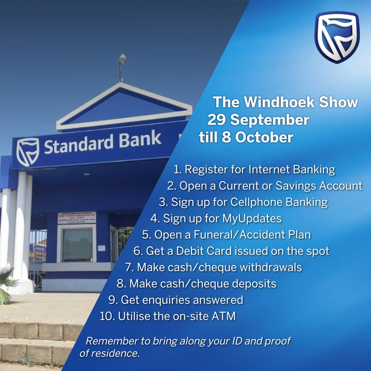 Standard Bank Namibia On Twitter We Re At The Windhoek Show From Friday Come Along And Visit Our Stand