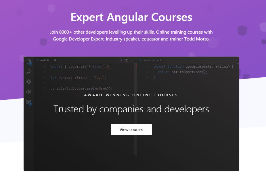 Top 5 AngularJS Online Training Video Websites