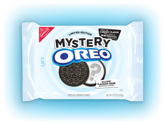Guess the new mystery Oreo flavor for a chance to win $50,000