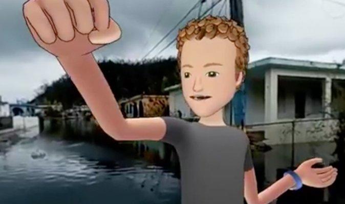 Mark Zuckerberg apologises for 'heartless' VR video on Puerto Rico hurricane disaster