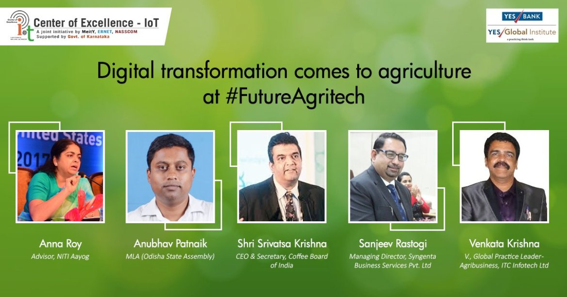 Our speakers are all set for #FutureAgritech. Are you? Register here: