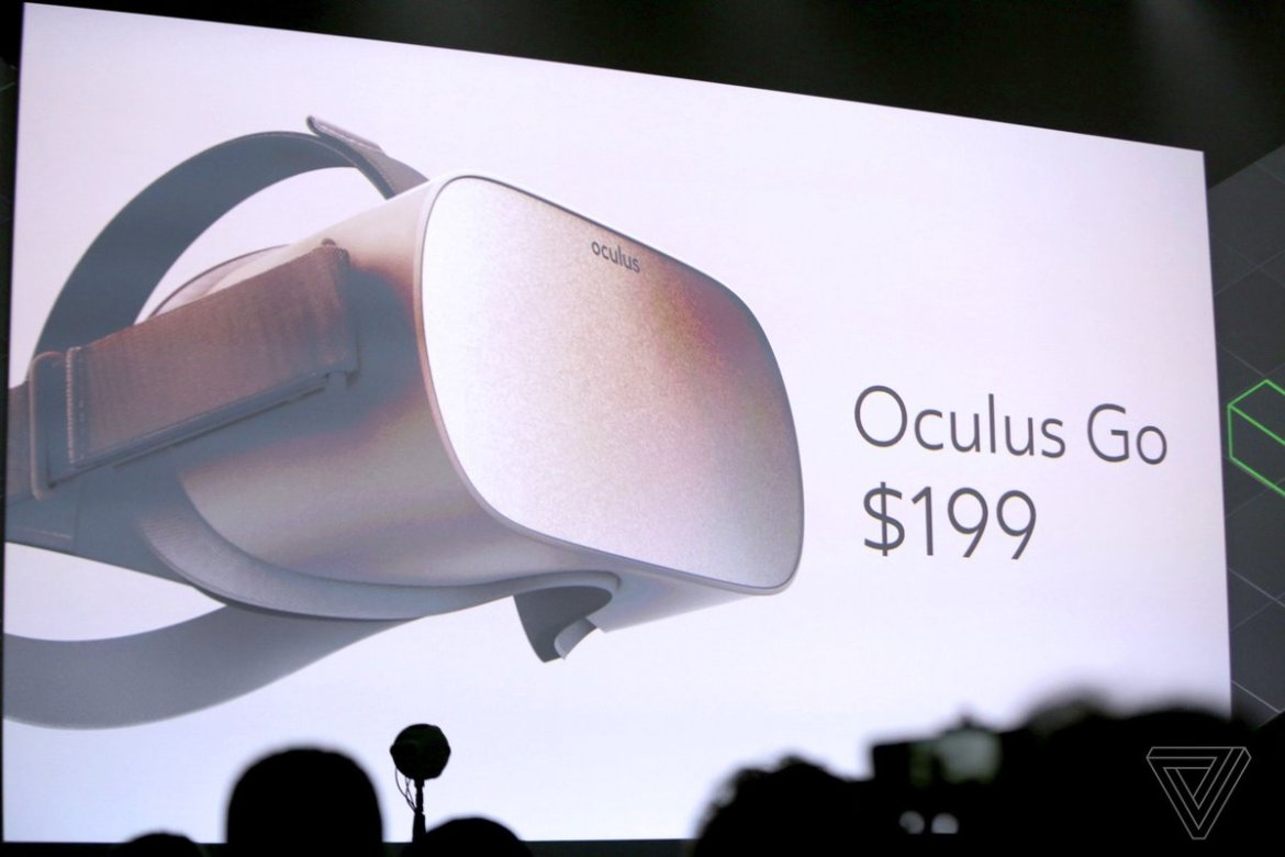 Oculus announces new $199 self-contained VR headset called Oculus Go, shipping in 2018