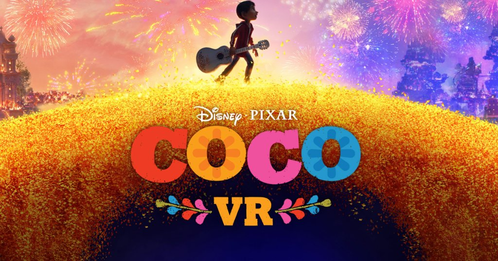 Take a Look at this #PixarCoco Virtual Reality Experience: