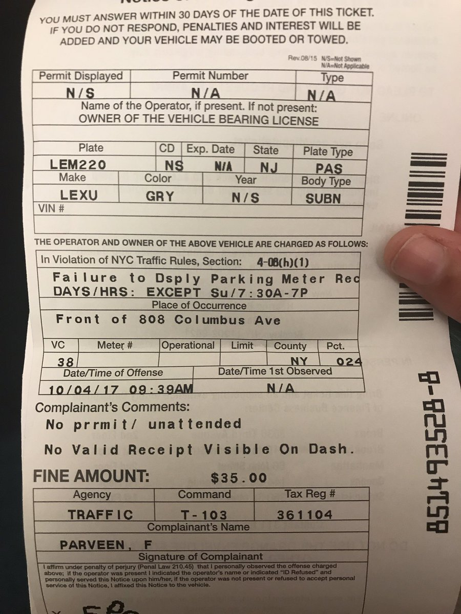 Nyc Finance Pay Ticket : finance, ticket, Twitter:, Dispute, Issued, Parking, Ticket, W/the, Finance:, Https://t.co/ijy59mnzCj., ParkNYC, Print, Proof, Paid…, Https://t.co/khO35GiXFc