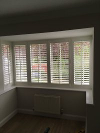 Box Bay Window Treatments. Image Window Treatments For Bay