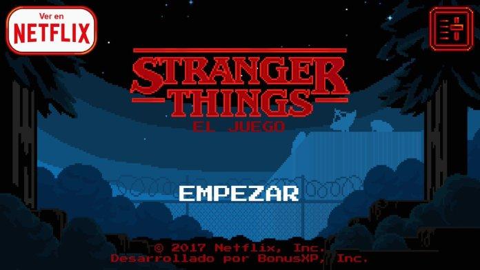 Juego de Stranger Things