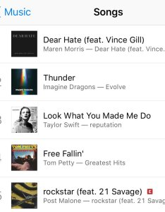 Dearhate tops the itunes all genres chart this morning marenmorris proof that music is healing thekellyford also ty bentli show on twitter rh