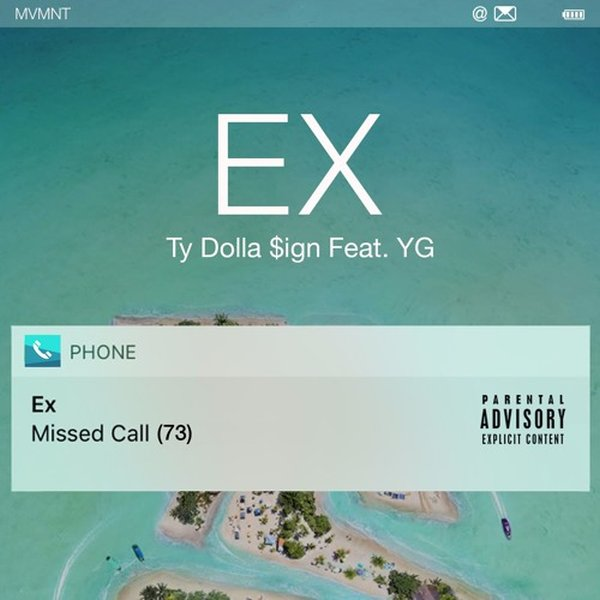 Ty Dolla Sign – Ex Lyrics ft. YG
