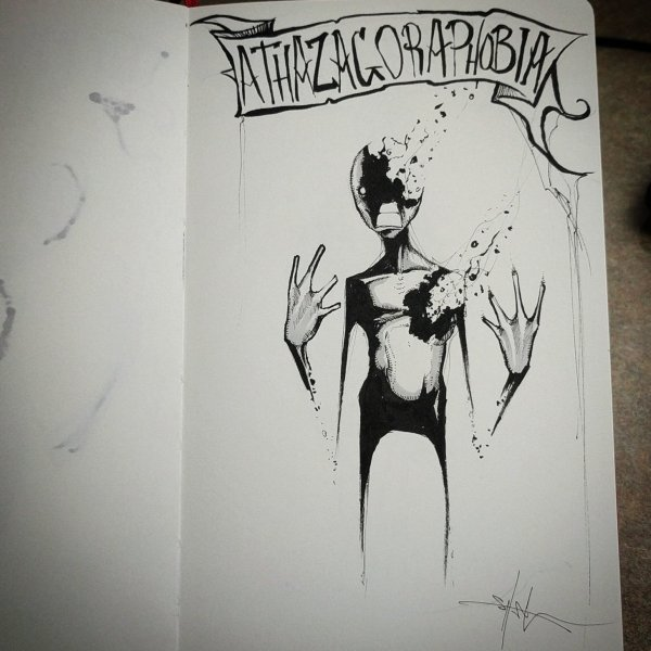 "Shawn Coss Twitter ""athazagoraphobia - Day 7 Of #"